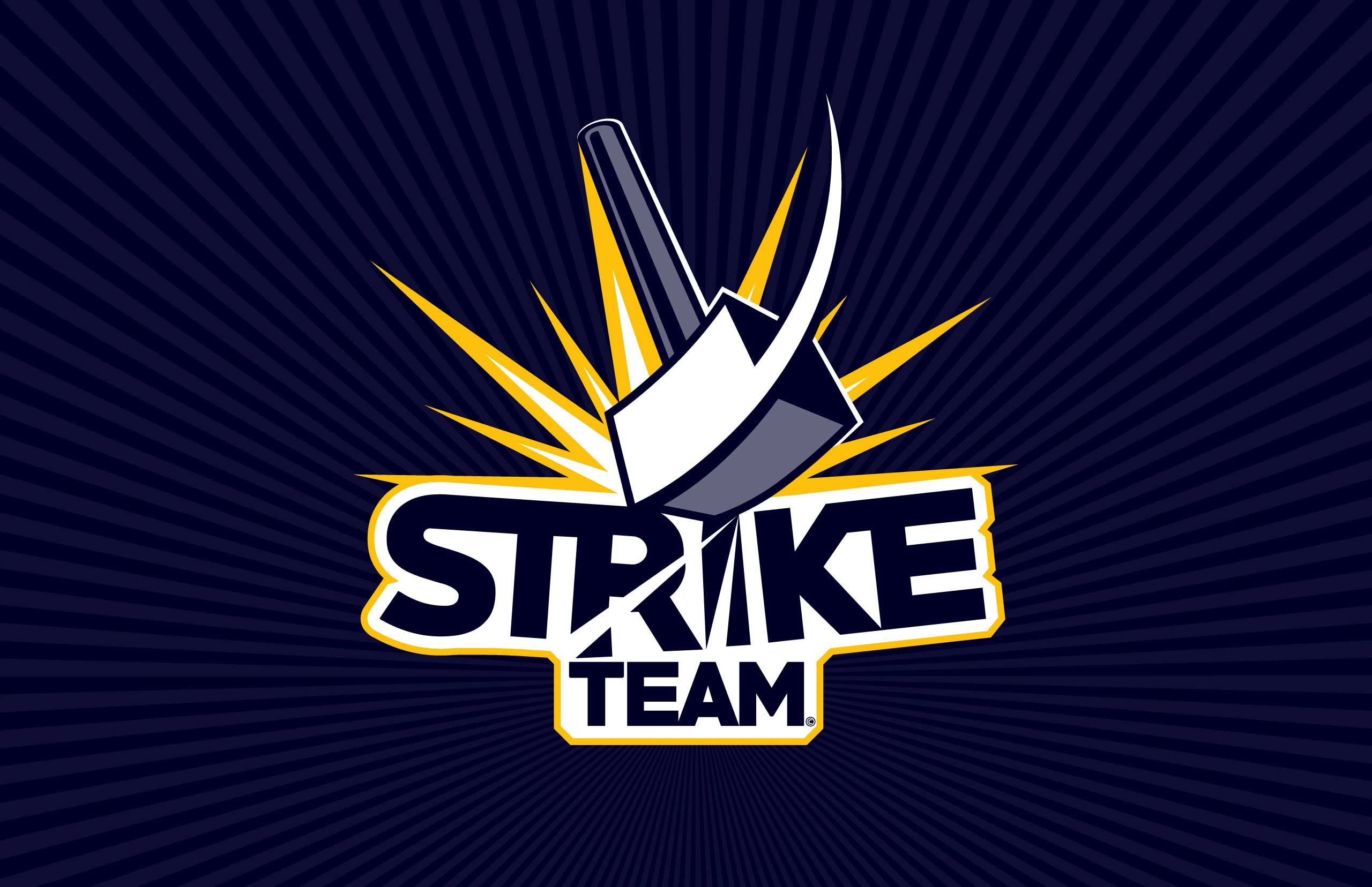 Strike Team logo for eSports team.