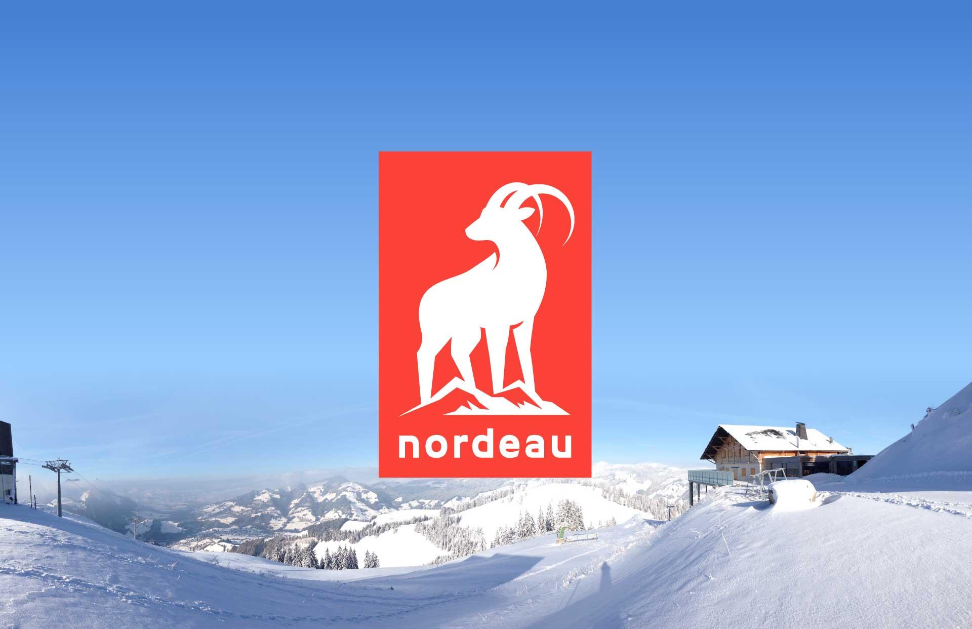 Nordeau logo.